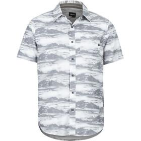 Marmot Syrocco SS Shirt Herre white mountains